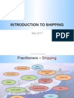 Topic - Intro to Shipping