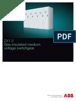 ABB ZX1.2 SwitchgearDS 2448 ZX1.2 En