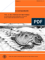 Catalogo de Especies de La Fao