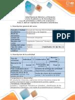 Guía de Actividades y Rúbrica de Evaluación - Paso 3 - Aplicar Legislación Tributaria Colombiana (3)