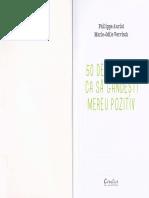50 de exercitii ca sa gandesti mereu pozitiv - Philippe Auriol.pdf