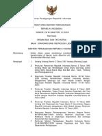 KepMenDag No 29_2005 Tentang Organisasi Dan Tata Kerja Balai Standardisasi Metrologi Legal