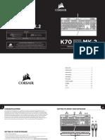Manual Corsair k70