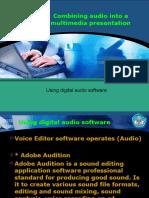Menggabungkan Audio Ke Dalam Sajian Multimedia 2.English