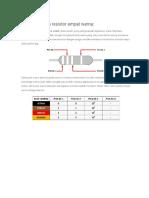 Cara Kerja Multimeter Analog Dan Digital