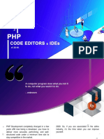 PHP Development Code Editors and IDEs of 2018!