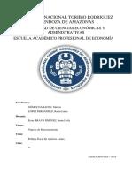 Integración Económica y Política Monetaria