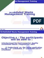 Schedule Waste_basic Module