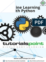 Machine Learning With Python Tutorial