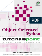 Object Oriented Python Tutorial