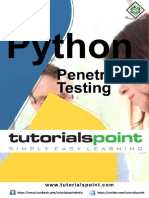 Python Penetration Testing Tutorial
