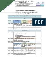 Jadwal Survei Akreditasi SNARS Edisi 1 RSUD Sultan Sulaiman Kabupaten Serdang Bedagai