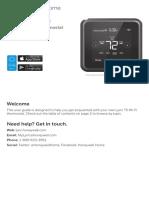Bộ điều khiển máy lạnh kết nối internet Honeywell T5 Plus