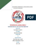 Informe de Electronica Industrial II Viernes