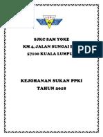 Dokumentasi - Sukan Ppki 2018