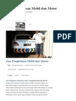 Jasa Pengiriman Mobil Dan Motor - Pengiriman Barang Murah