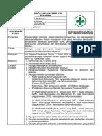 SOP Pengendalian Dokumen Internal & Eksternal