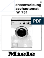 Miele W 751 Washing Machine.pdf