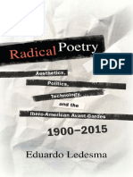 Radical Poetry