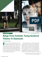 Refuge From Femicide