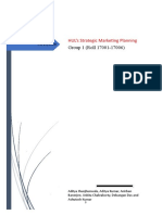 HUL Strategic Marketing
