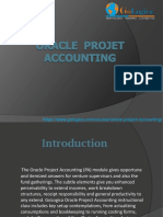 Oracle Projet Accounting Online Training