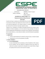 Métodos de Solución de Redes Eléctricas