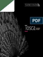 Programa de Mano - Tosca