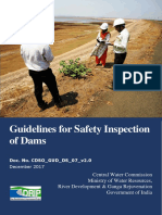 Guidelines for Safety Inspection of Dams