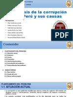 Un Análisis de La Corrupción en El Perú y Sus Causas