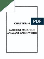 Katherine Mansfierd - An Avant-Garde Writer (About Modernism)