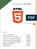 Qué es el HTML