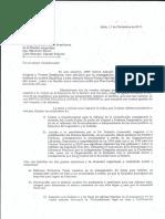 Poderes Controlados - Carta a la Presidencia de la Nación