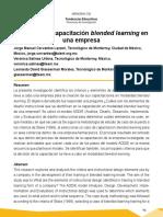 Diseño de La Capacitación Blended Learning
