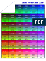 Color Reference Guide