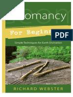 Richard Webster - Geomancy for Beginners (32 Pgs)