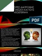 Διαφορεσ Διατροφησ Στουσ Vegan Και Τουσ Vegetarian 1