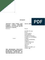 Case 20 Abaka Guro Party List v. Ermita