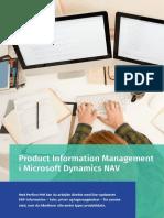 Produktinformationsstyring i Microsoft Dynamics NAV - Perfion PIM