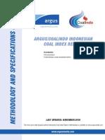 Argus Coalindo Indonesian Coal Index Report