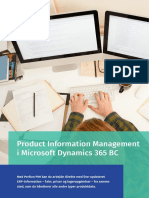 Produktinformationsstyring i  Microsoft Dynamics 365 Business Central - Perfion PIM