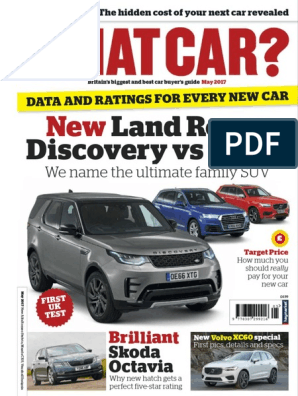 What Car - May 2017 pdf | Fuel Economy In Automobiles
