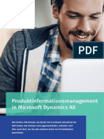 Produktinformationsmanagement in Microsoft Dynamics AX - Perfion PIM