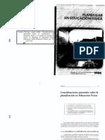 Planificacion en Ed. Fisica