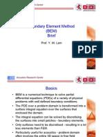 Boundary Element Method-CSA