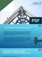 Presentación IMÁS Andamios 2016 Rev.01