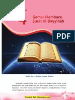 Pelajaran 4 Gemar Membaca Surat Al-Bayyinah