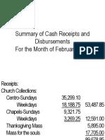 Financial Report February 2015