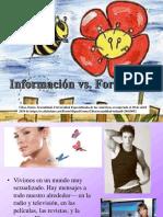 Información vs. Formación