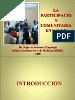 PARTICIPACION COMUNITARIA 2010